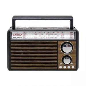 رادیو اسپیکر بلوتوثی قابل حمل Vanmaax مدل MAX-RB-2031 طرح قدیم
