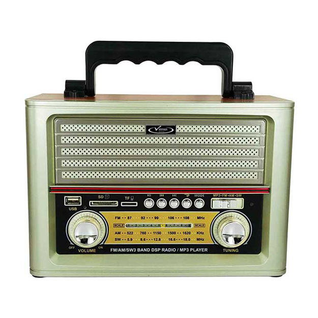 رادیو اسپیکر بلوتوثی قابل حمل Vanmaax مدل MAX-SB-2030 طرح قدیم