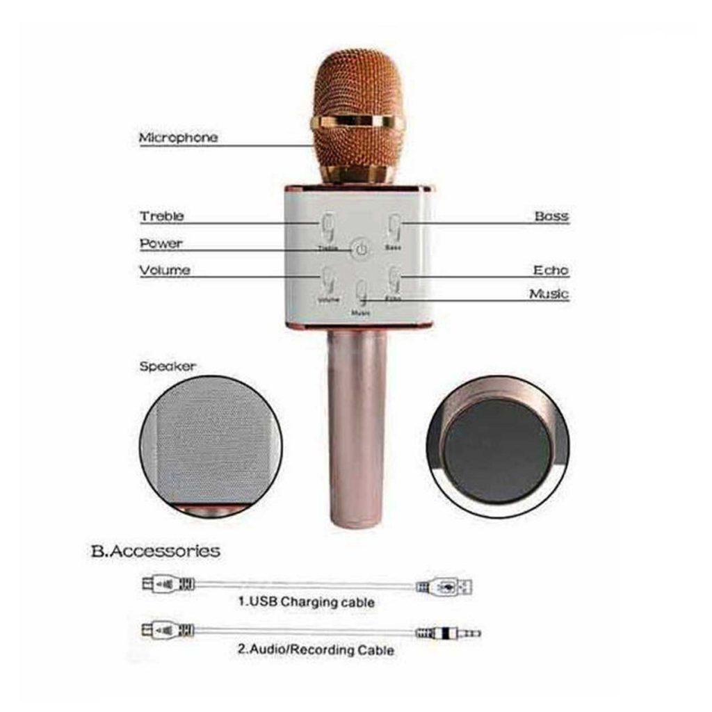 میکروفون اسپیکر دو منظوره ونوس مدل PV-F1425 (بلوتوثی)