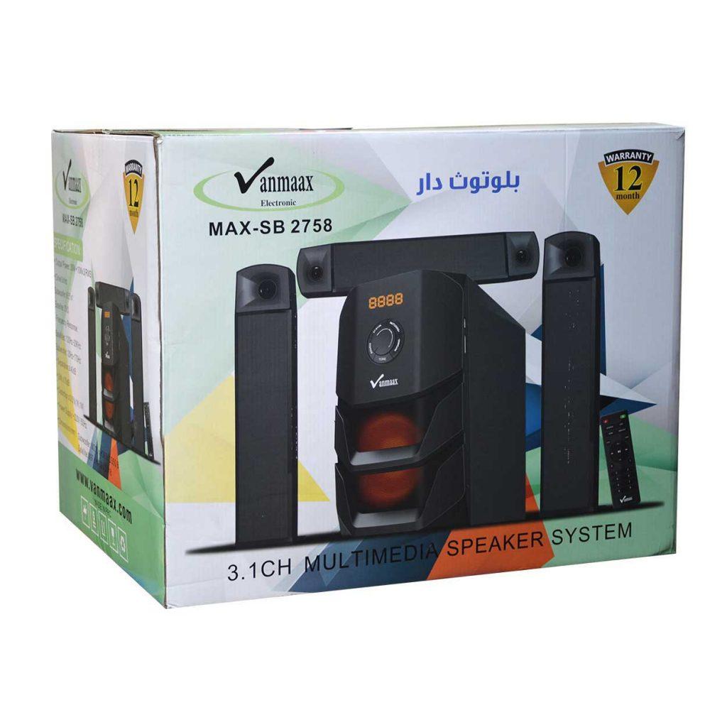 اسپیکر سه تیکه Vanmaax مدل MAX-SB-2758