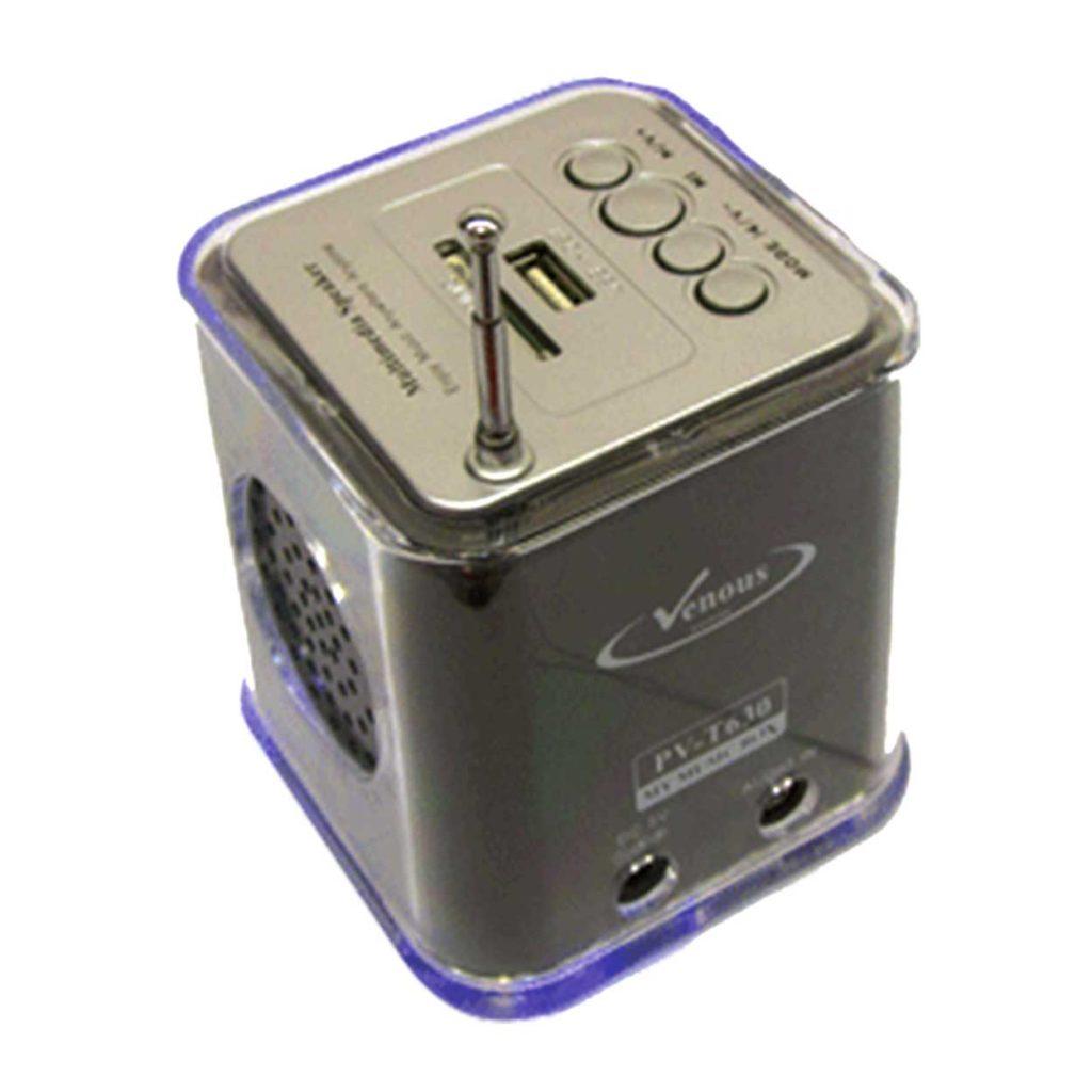 اسپیکر قابل حمل بلوتوثی ونوس مدل PV-T630