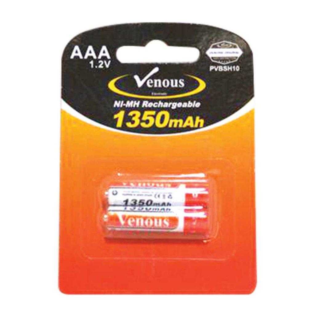 باطری نیم قلم 1350mAh ونوس مدل PV-BSH10