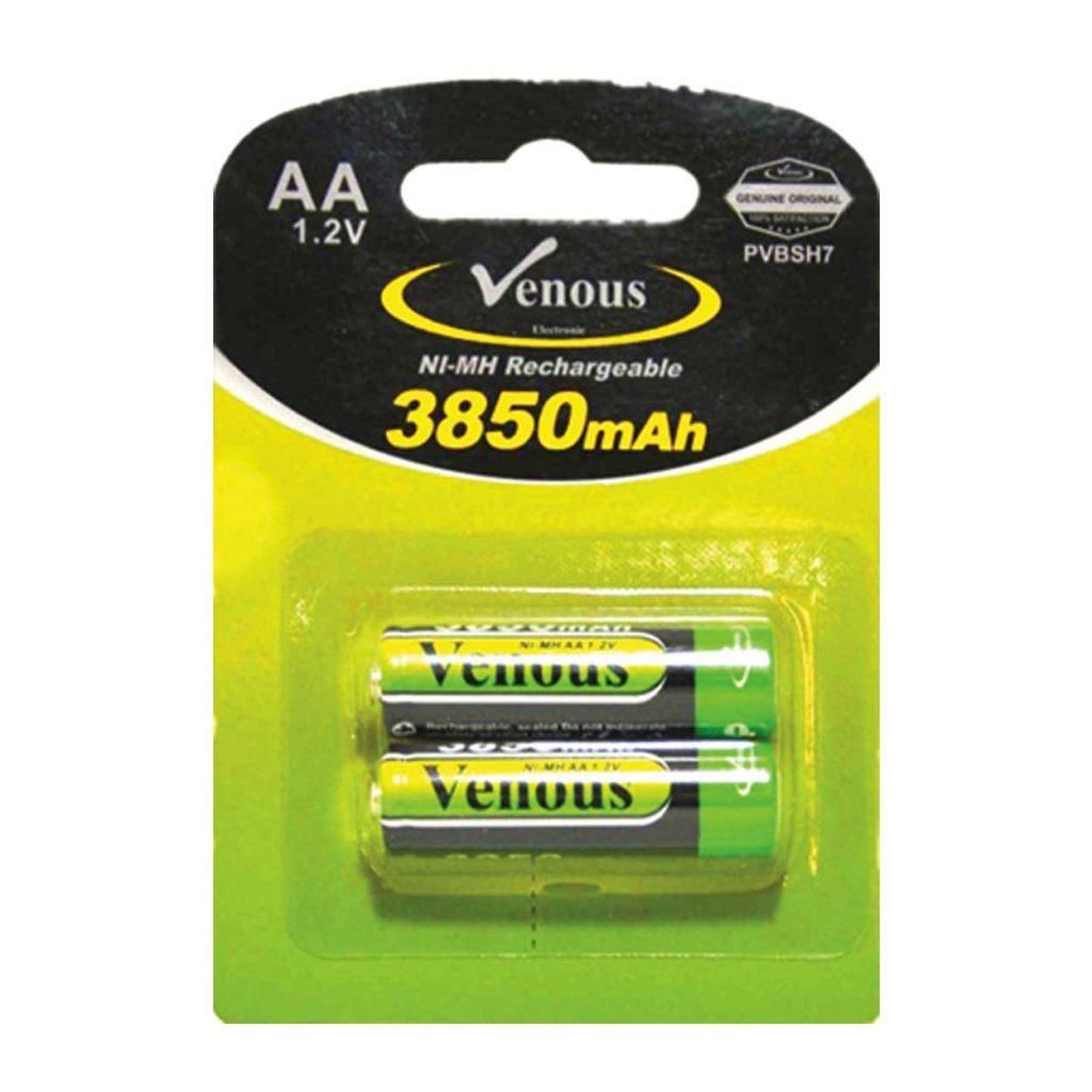 باطری قلمی 3850mAh ونوس مدل PV-BSH7