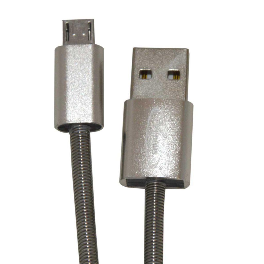کابل شارژ و انتقال دیتا USB2 فنری ونوس مدل PV-K352