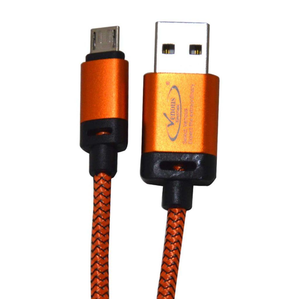 کابل شارژ و انتقال دیتا USB2 کنفی ونوس مدل PV-K356