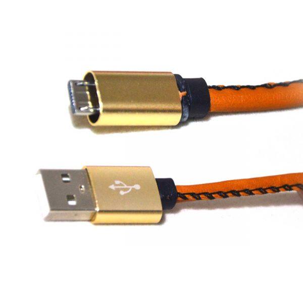 کابل شارژ USB2.1A ونوس طرح چرم مدلPV-K981