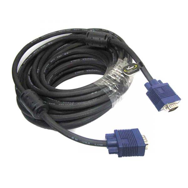 کابل VGA بیست متری ضخیم ونوس (VENOUS) مدلPV-K120 (کیفیت عالی) بدون نویز