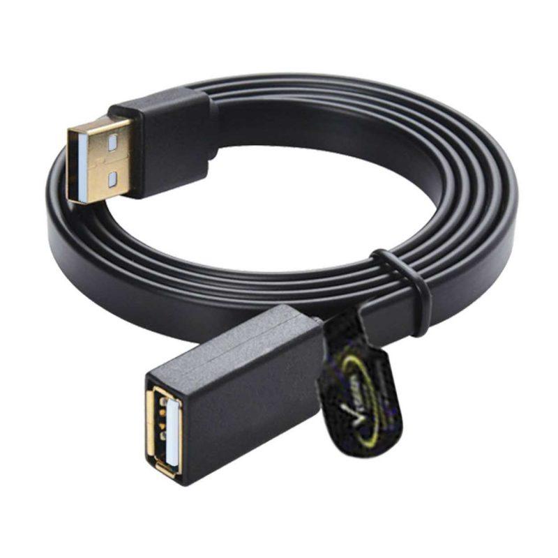 کابل افزایش USB یک و نیم متری تخت ونوس (VENOUS) مدل PV-K193