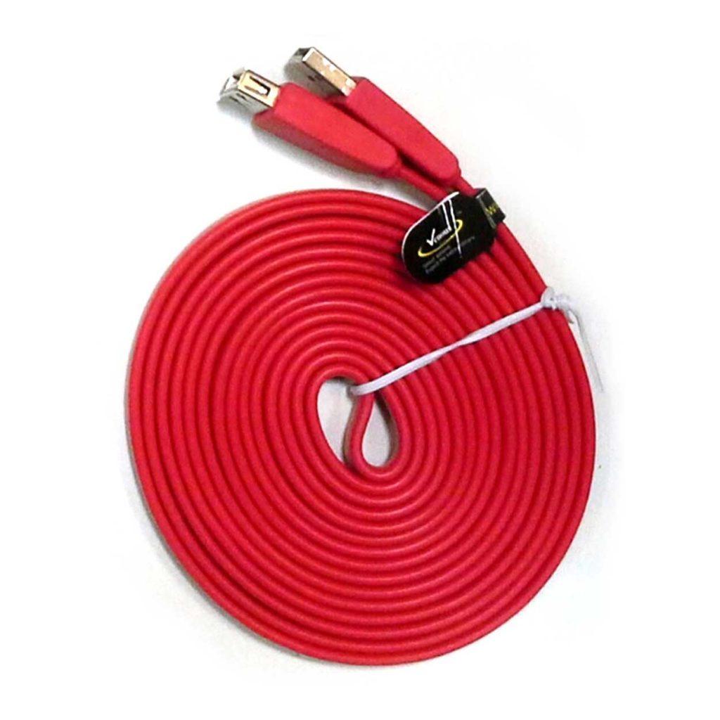 کابل افزایش USB سه متری تخت ونوس (VENOUS) مدل PV-K194