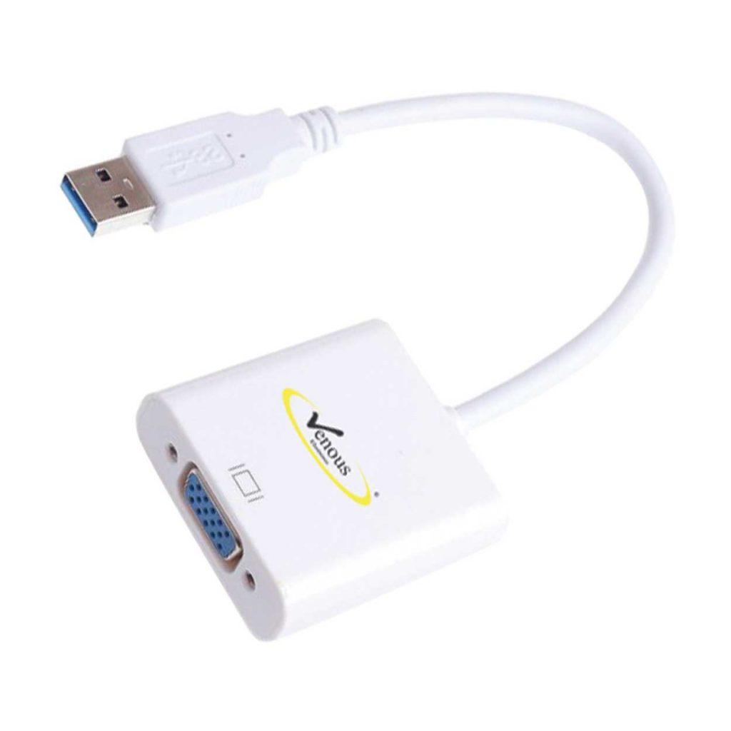 مبدل USB3 به VGA ونوس مدل PV-K889