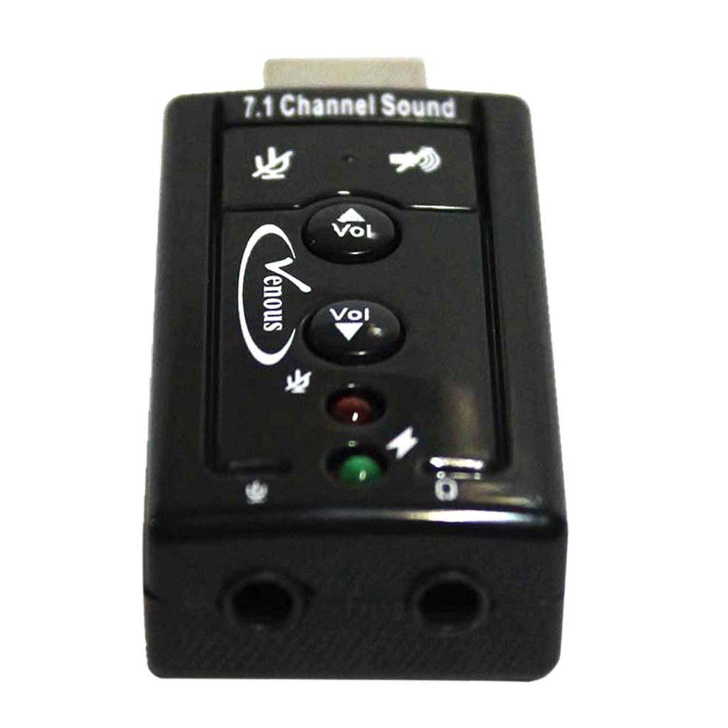 کارت صدا ولوم دار USB ونوس مدل K01