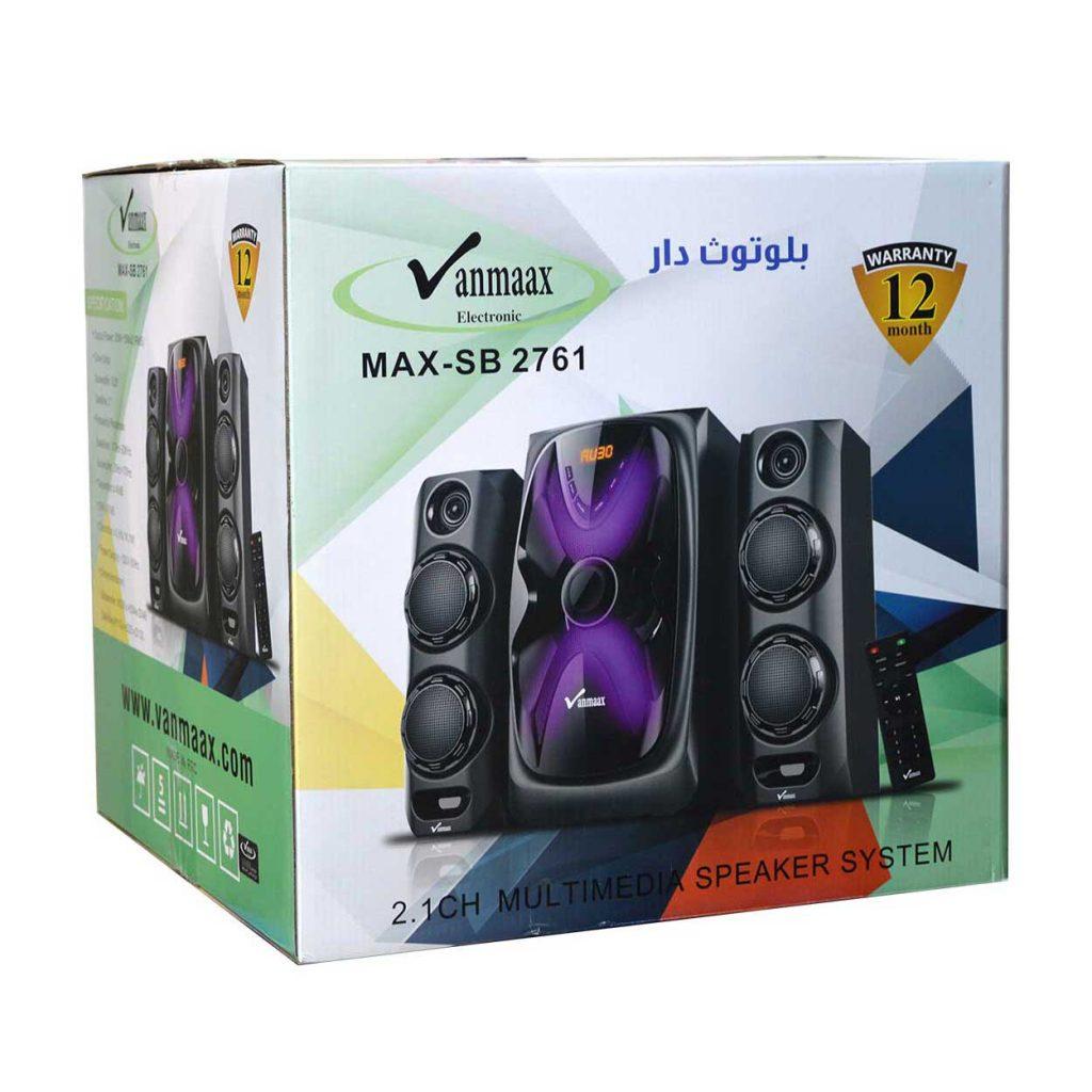 اسپیکر چهار تیکه Vanmaax مدل MAX-SB-2761