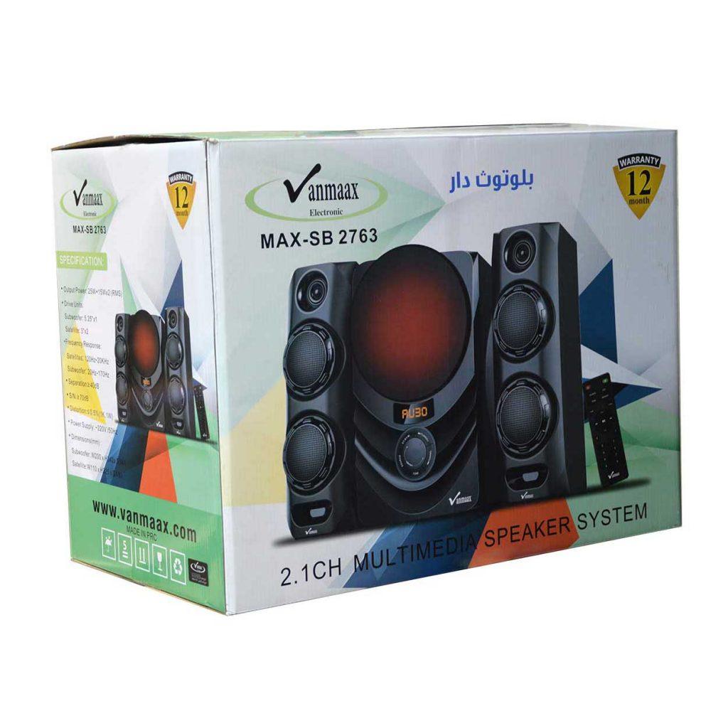 اسپیکر سه تیکه Vanmaax مدل MAX-SB-2763
