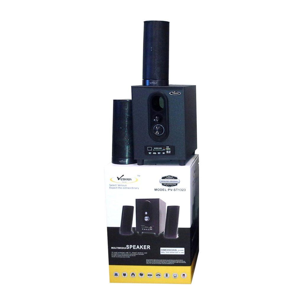 اسپیکر ۳ تیکه لپ تاپی، رم و فلش خور بلوتوثی ونوس مدل PV-ST 1323