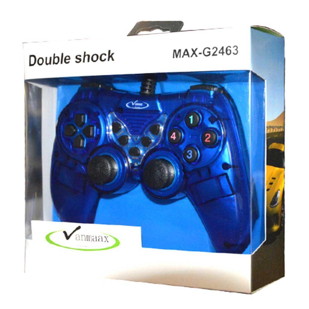 دسته بازی تک شوک دار حرفه ای Vanmaax مدل MAX-G2463