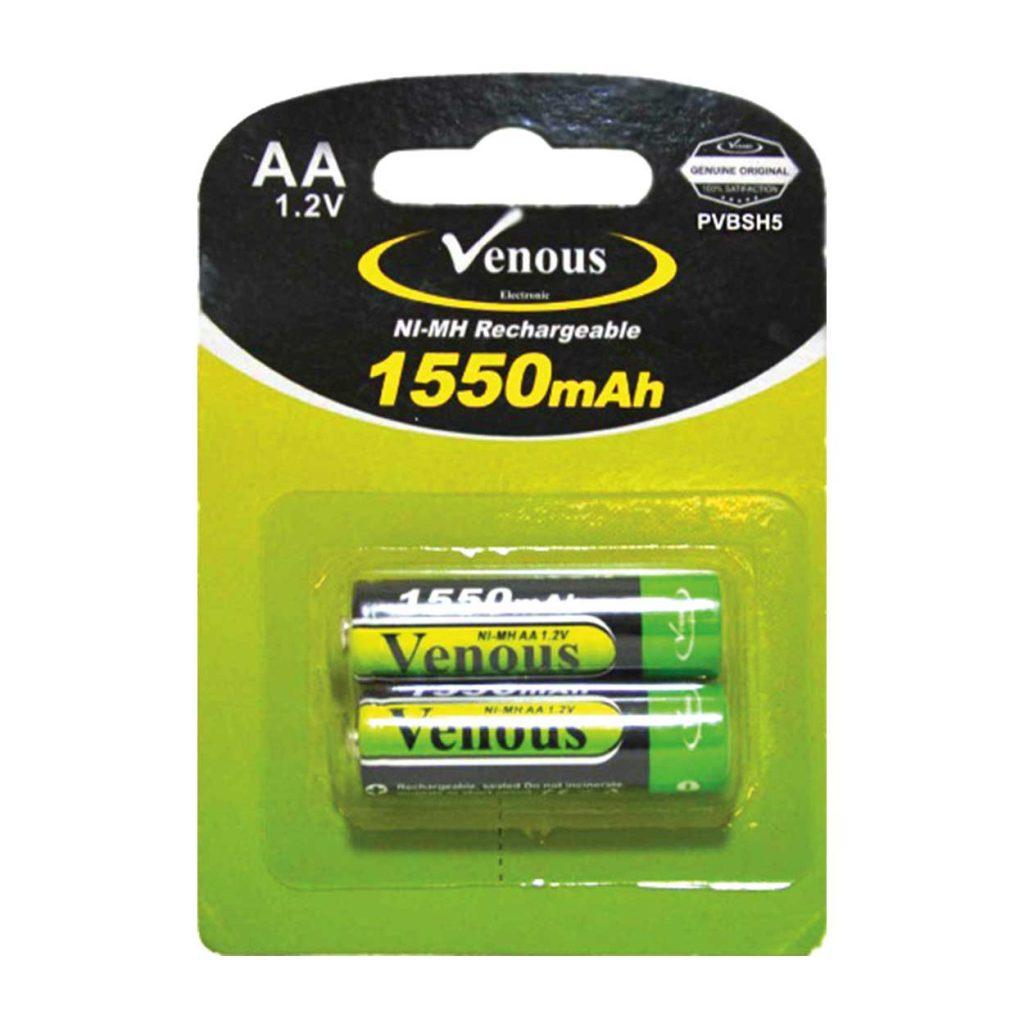 باطری قلمی 1550mAh ونوس مدل PV-BSH5