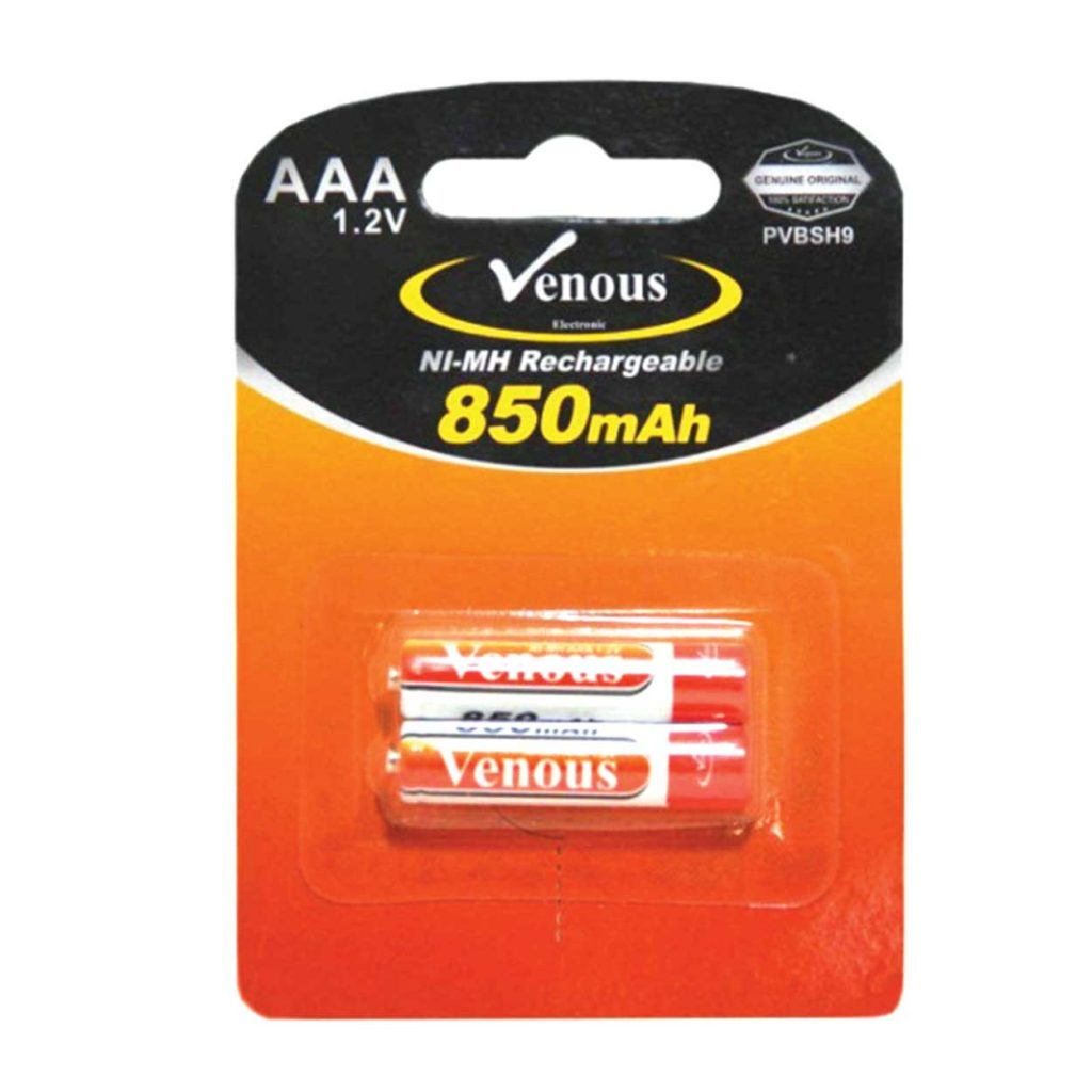 باطری نیم قلم 850mAh ونوس مدل PV-BSH9