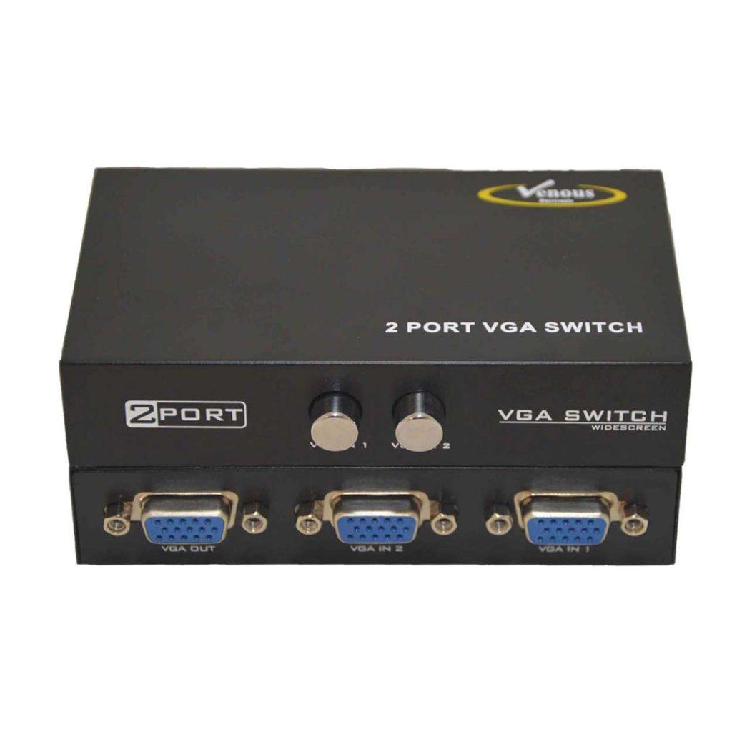 سویچ 1 به 2 VGA ونوس مدل PV-T908