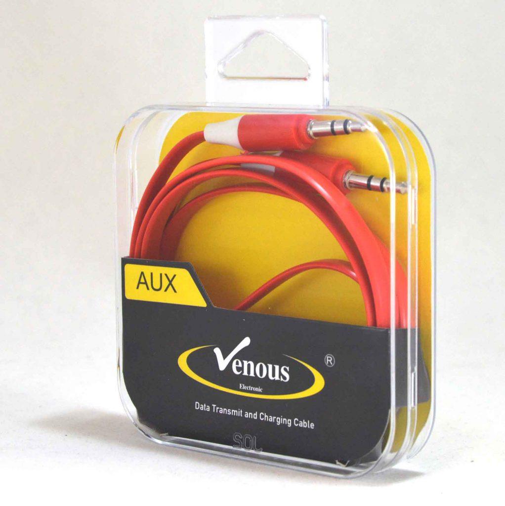 کابل تخت AUX درجه 1 ونوس (VENOUS) مدل PV-K909