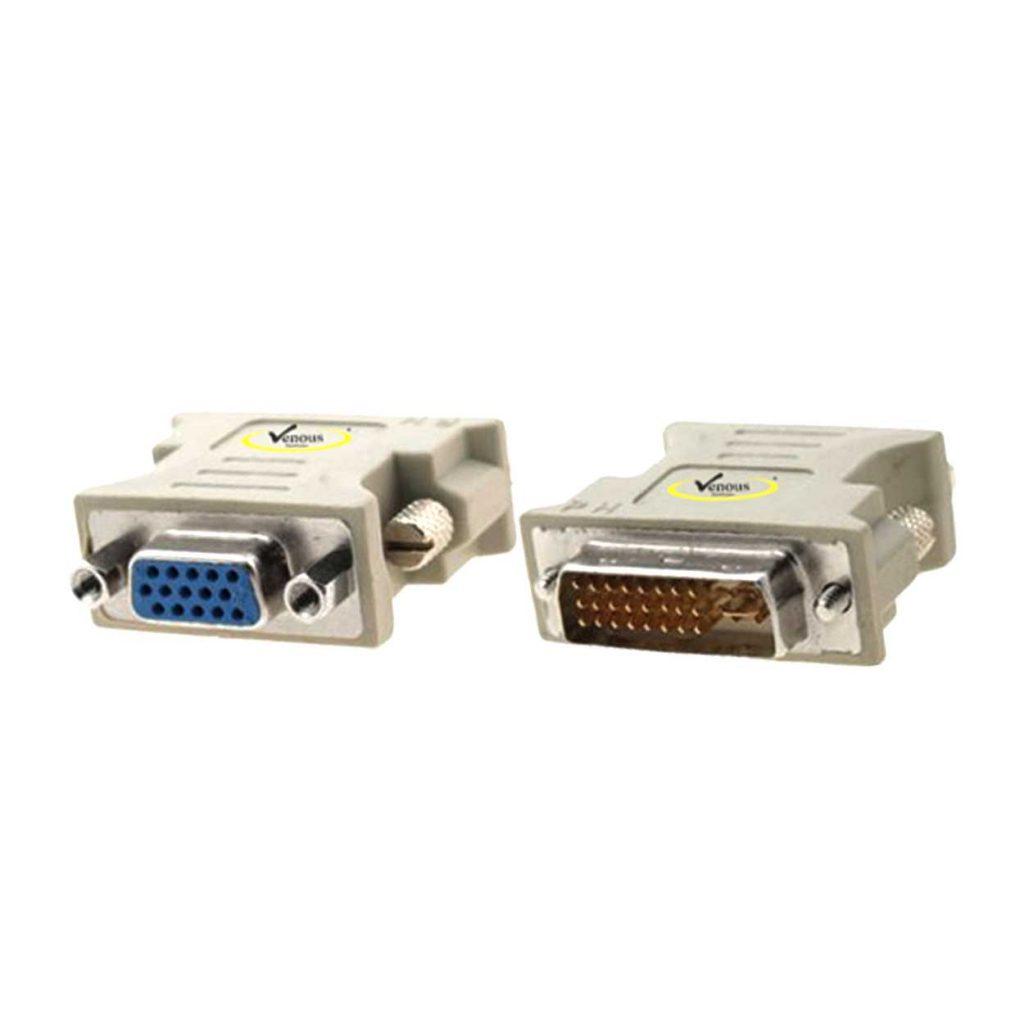 تبدیل DVI نری به VGA مادگی ونوس مدل PV-T927